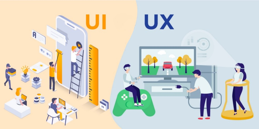 UX and UI in Web Application Development